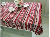 Brand New Bohemian Red Table cloth Edmonton, T6W 2X7
