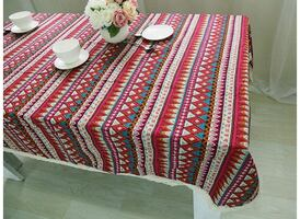 Brand New Bohemian Red Table cloth
