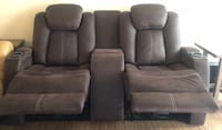 Leather theater chairs (loveseat) Diberville