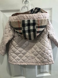 Burberry girl kid coat jacket 12-18mths Aurora
