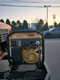Cat RP7500E Gas Powered Generator with Electric Start