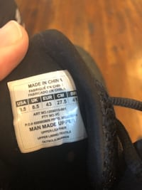 Under Armour Basketball shoes worn once ELLICOTTCITY