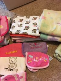 blankets and bibs Stafford, 22554