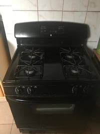 Gas and electric stove