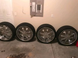 26in rims for sale $1,100