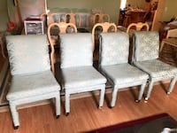 Four upscale chairs dinner room $15.00 EACH 827 mi