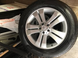 Mercedes-Benz Snow Tires and Rims - 265/55 R19