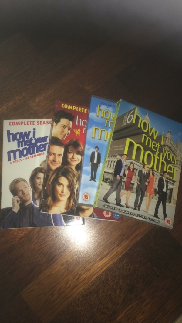 How i met your mother sesong 1-6