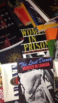 Canadian crime & law assorted book collection St Catharines, L2S