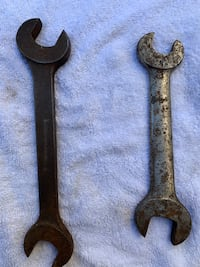 2 Vintage Open End wrenches