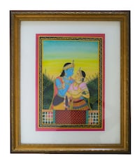 Radha Krishna - Indian painting ASHBURN