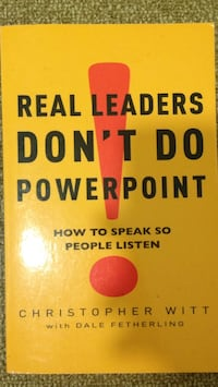 Real Leaders Don't Do Powerpoint Wentworth Point, 2127