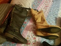 Black like New size 7 1/2. Tan size 71/2