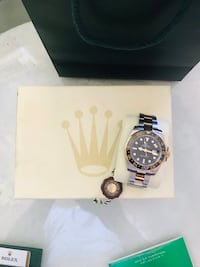 USED* ROLEX GMT MASTER ll 40mm  Model# 116713  (Genuine )2007 edition Takoma Park