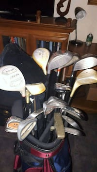 Limited edition vintage clubs & bag. Also, set of new driver's & irons Kitchener, N2M 3Z9