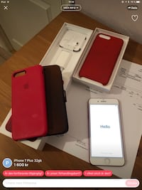 Silver iphone 6 med box Hallstavik, 763 34
