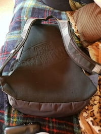 black and gray leather backpack Chicago, 60630