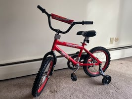 "Next Rocket 16"" kids bicycle"