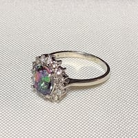 Genuine Sterling Silver Tourmaline Ring Ashburn