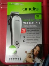 New professional 10 piece pet clippers Vancouver, V6B