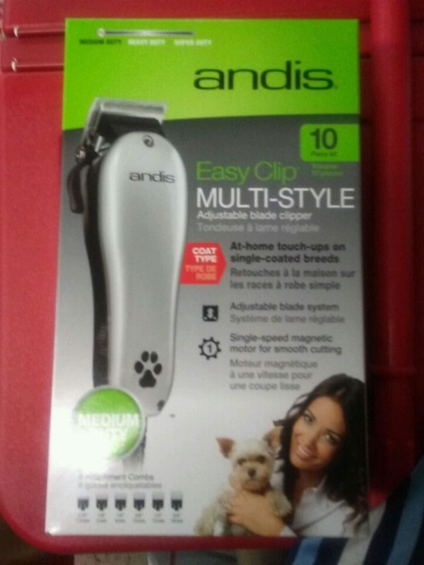 New professional 10 piece pet clippers
