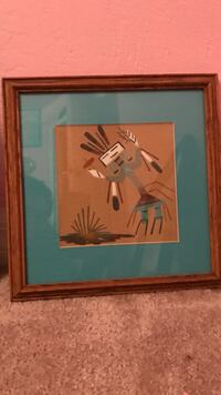 brown wooden framed painting of woman Port Orange, 32129
