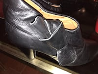 ALDO Black leather booties Mississauga, L5V 1S3