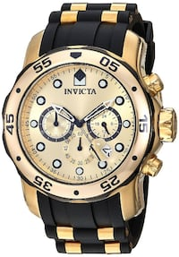 NEW Invicta Men's 17885 Pro Diver Ion-Plated Stain. Steel Watch Toronto