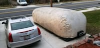 Car cover inflatable