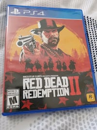 Ps4 red dead redemption 2  Toronto, M9R 4B2