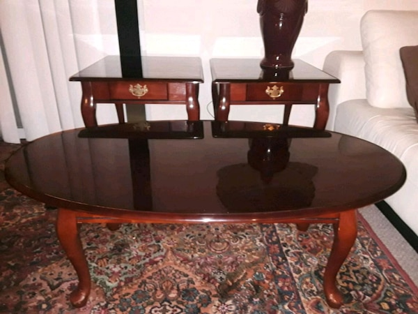 Coffee Table End Tables Solid Cherry Wood
