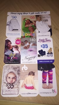 Various Baby Gift Cards Bundle Alexandria, 22311