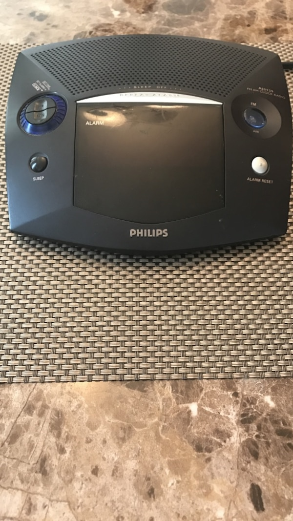 Philips FM AM Clock Radio Aj3125