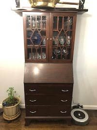 RARE FIND! Vintage Display Cabinet with Drawers