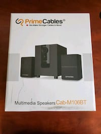 PrimeCables 2.1 Bluetooth Multimedia Stereo Speaker and Subwoofer Set