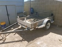 white and brown utility trailer Phoenix, 85023