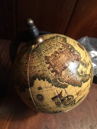 Old  World Globe/map South Bend, 46635