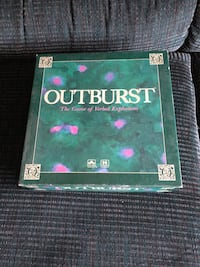 Outburst- The Game of Verbal Explosions, 1988 edition Baltimore, 21236