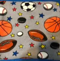 Boys throw blanket... I can mail if buyers pays for shipping and pays through FB Pay Turbeville, 29162