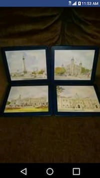 Vintage Lady Clare London Traditional Place Mats Huntsville