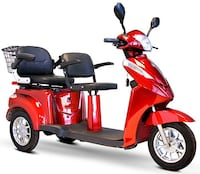 New GTX-L-60 double seat electric mobility scooter on sale at www.mobility4less.com Miami