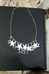 Silver Stars necklace  Omaha, 68147