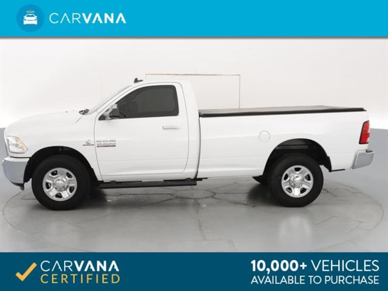 2015 Ram 3500 Regular Cab pickup SLT Pickup 2D 8 ft White  8