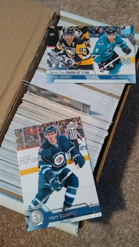 ice hockey trading cards collection