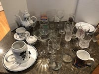 Lot of 36 Random Dishes $9 for all Manassas
