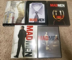 Mad men season 1-5