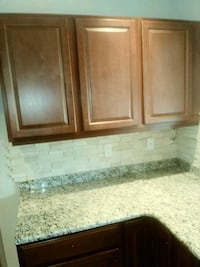 Like New kitchen cabinets, cherry stained ???? Hooksett