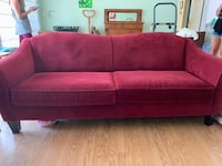 Red Couch Santa Ana
