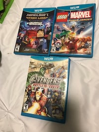 Wii U games Kingston, K7M 4E2