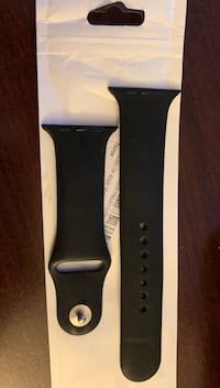 Apple Watch Band - black soft silicone - M/L - brand new Gaithersburg, 20878